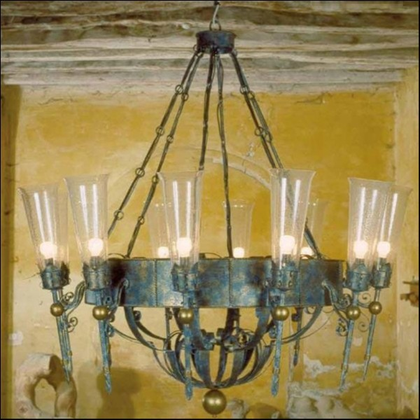 Люстра MM Lampadari Fiaccole 5471/12